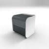 Beduftungsgeraet_Compact-Line_dunkel-grau_Raum-und-Duft-Konzept-AG