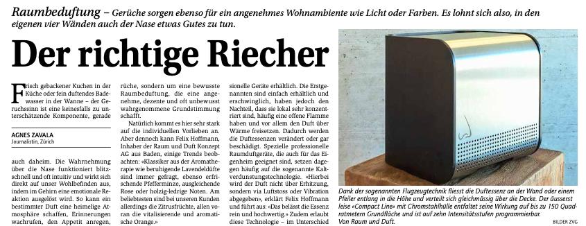 Beitrag_Raumbeduftung_Raum-und-Duft-Konzept-AG_in_Hauseigentuemer-Zeitung_Mai_2021_Vorschau